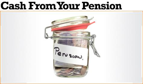 how much pension money can you release