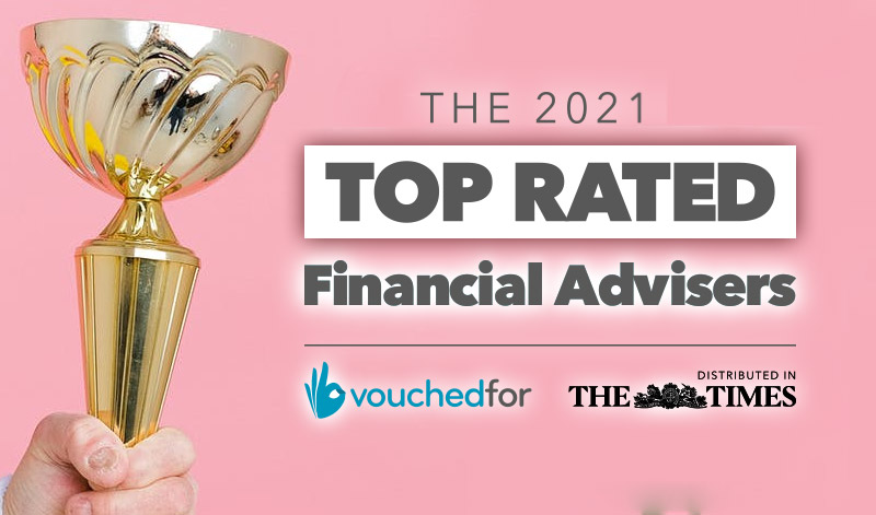 VouchedFor Top-Rated Adviser 2021